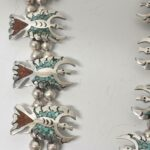 Vintage-Sterling-Turquoise-Coral-Necklace-1735-Grams-265106451529-3